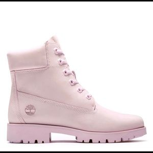 Timberland Lite Pink 6 Inch Boots